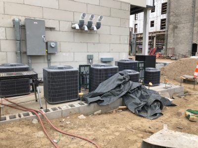 Commercial AC Install Greenville