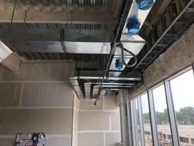 Commercial HVAC Install Greenville