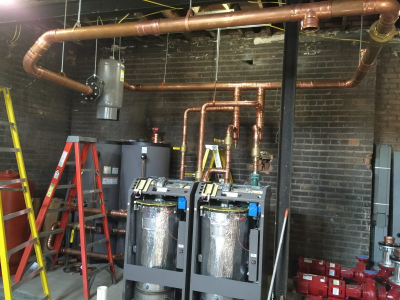 Commercial Installation Plumbing Greenville