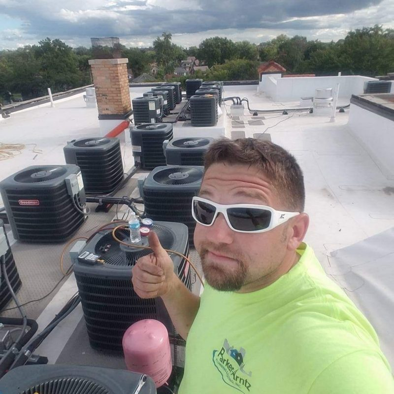 Rooftop HVAC Install Greenville MI