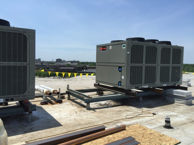 Rooftop Install HVAC Greenville MI