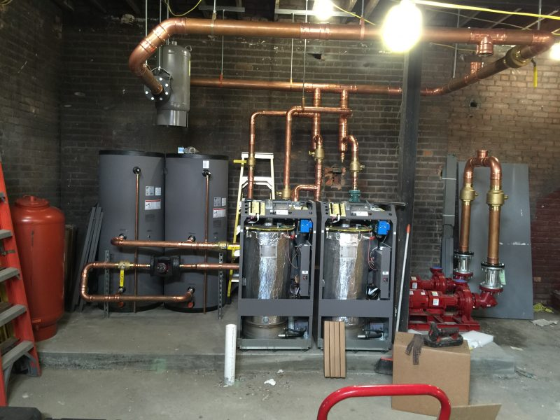 Water Heater Installation Commercial Greenville