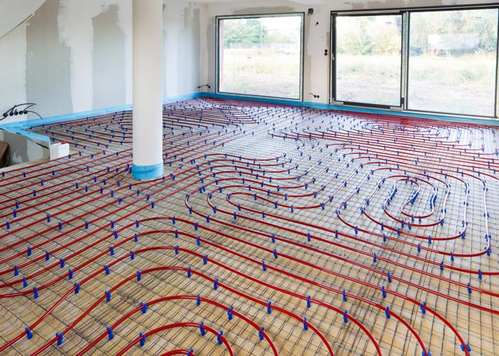 In Floor Heating Greenville MI